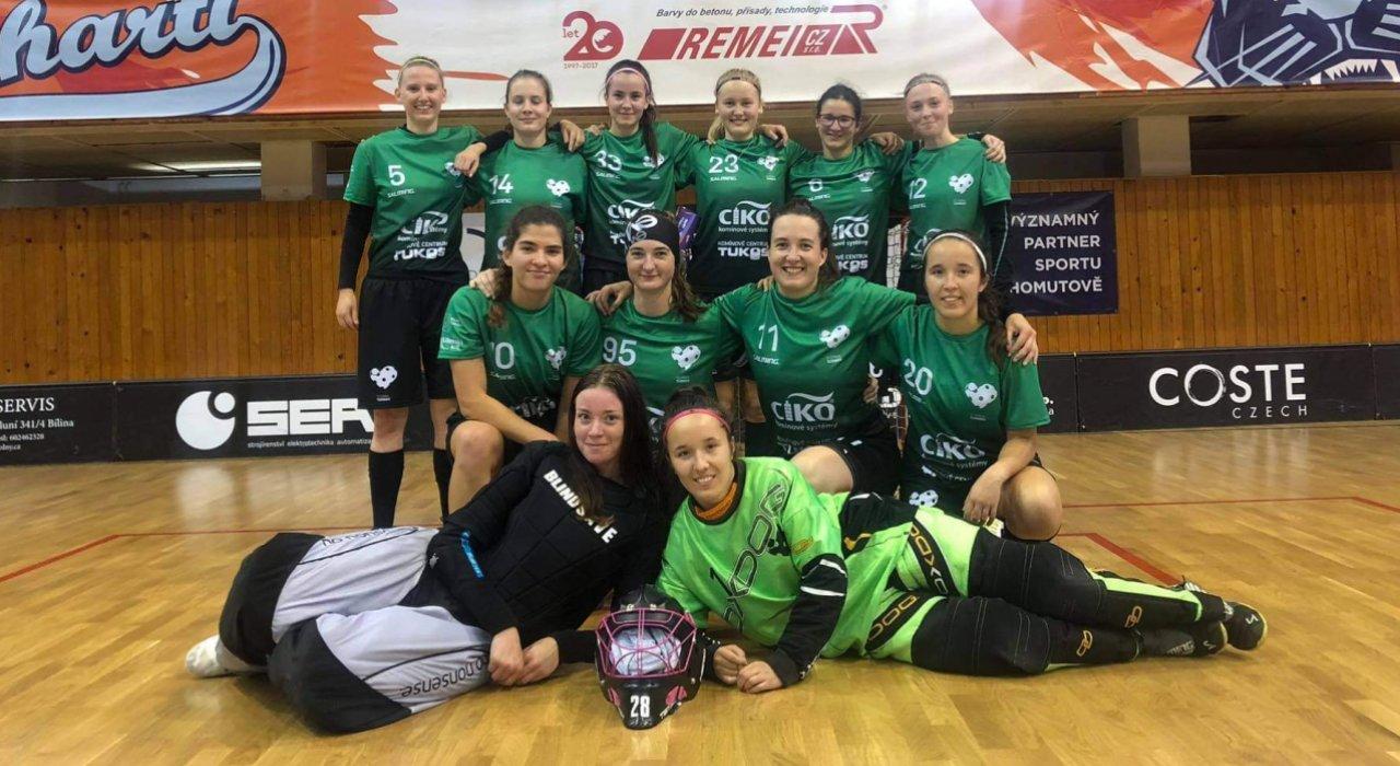 Dvě vítězná utkání si o víkendu připsaly ženy v 1. lize
